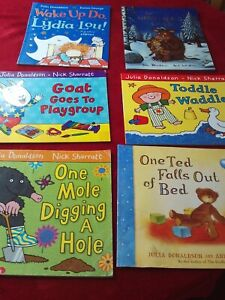 GC-Bundle-of-6-Julia-Donaldson-Children-039-s-Paperbacks-2-Like-New-FREE-P-amp-P
