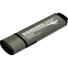 Kanguru SS3 USB3.0 Flash Drive with Physical Write Protect Switch, 32G