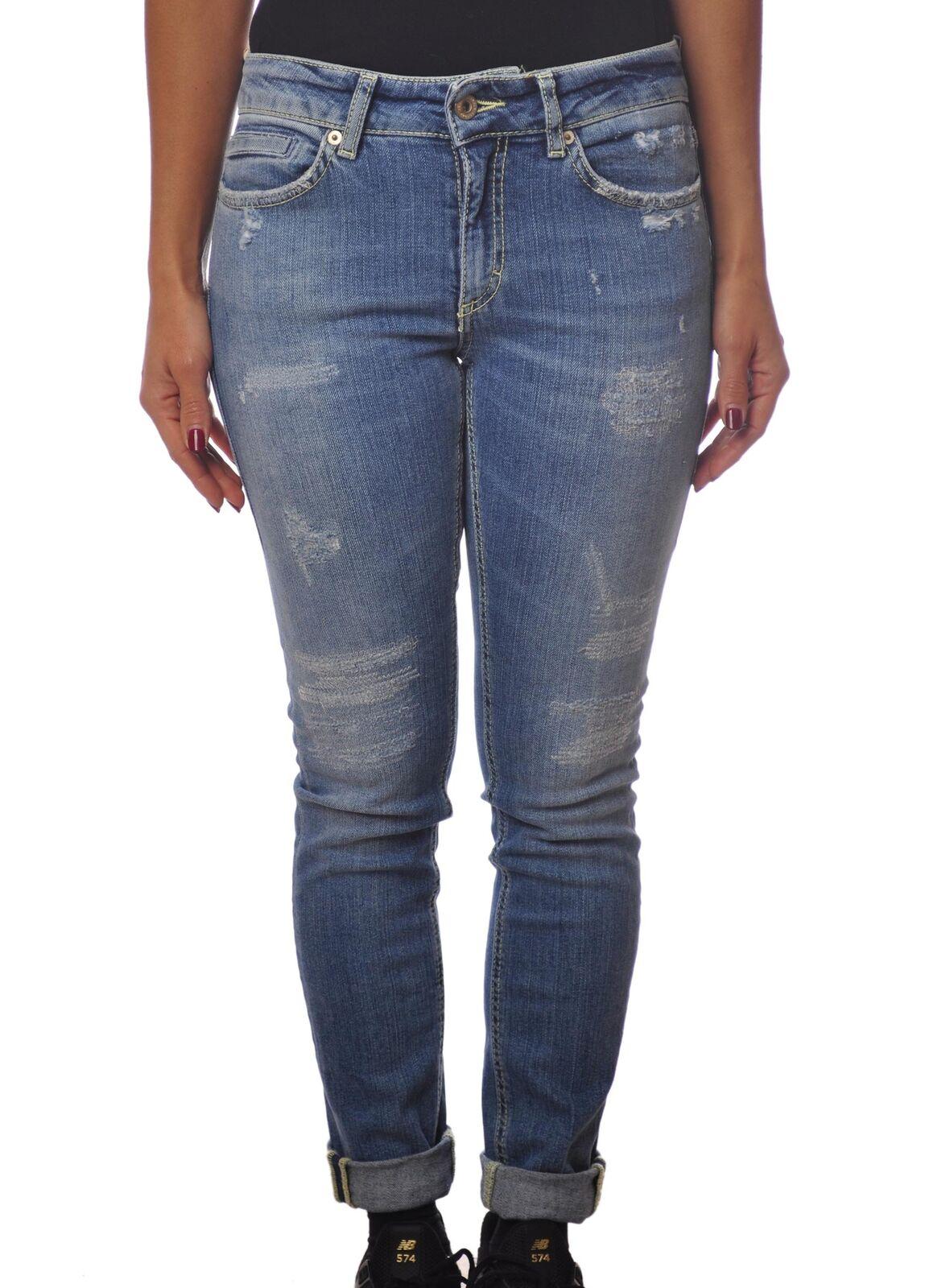 Dondup - Jeans-Pants-slim fit - Woman - Denim - 4495031G184218