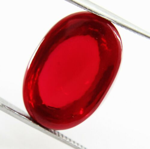 Natural 50 Ct Red ruby cabochon GGL Certified Origin Mozambique