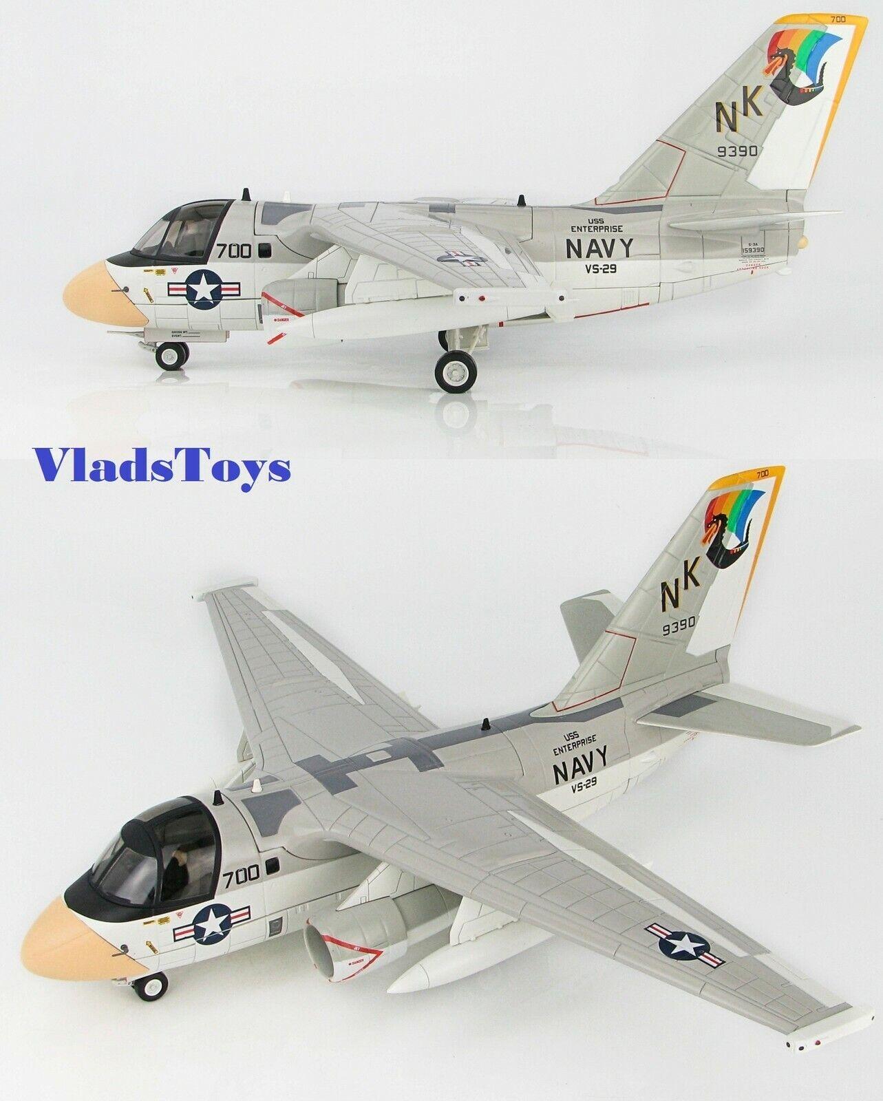 Hobby Master 1 72 S-3a Vikingo USN Vs-29 Dragonfires Nk700 Uss Enterprise