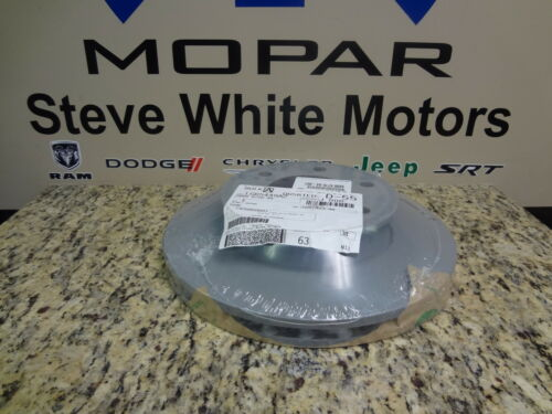 07-09 Dodge Sprinter Van New Front Brake Rotor Left Or Right Mopar Factory Oem