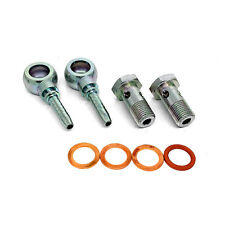 HEL PERFORMANCE Banjo Fittings & Bolts Water Coolant Pipe For GARRETT TURBO M14