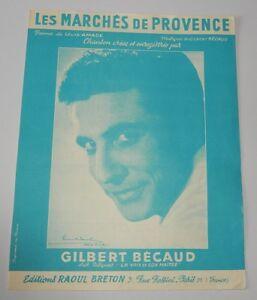 Partition-Les-MARCHES-de-PROVENCE-Gilbert-BECAUD-Poeme-de-Louis-AMADE