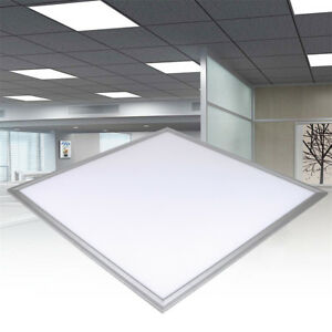 Details About 36 48w Ceiling Suspended Recessed Led Panel White Light Office Lighting 600x600