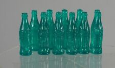 12 Toy Coca Cola Bottles Smith Miller Old Store Stock Real Coke Glass Bottles!