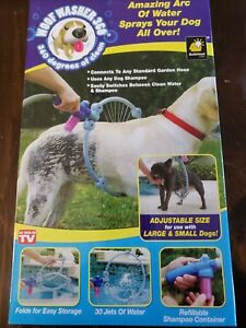 Details about Woof Washer 360 Dog Washing System