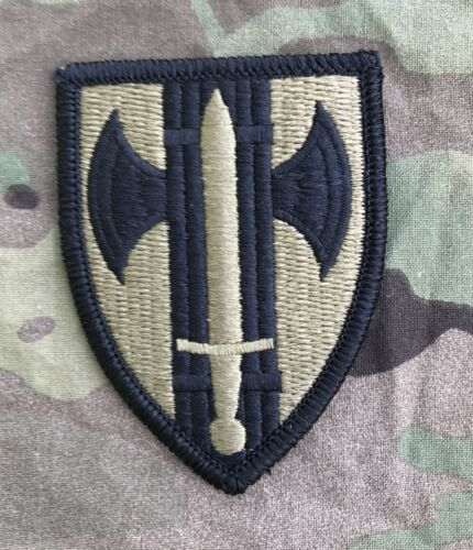 US ARMY 18th MP BDE  Military Police Multicam OCP Scorpion Klett patch