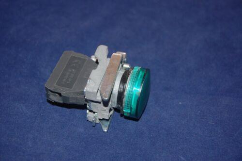 2PCS 22MM XB4 Green Pilot light with LED Light Block FITS XB4 BVG3 110V AC