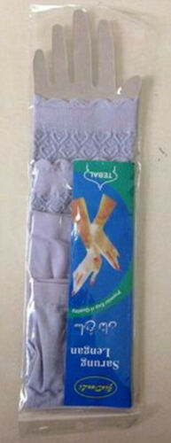 Muslim Women Oversleeves 1 Pair 34cm Lady Islamic Sleeves Arm Cover Ramadan