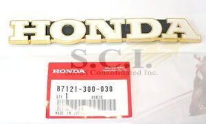 HONDA CB500 CB550 CB750 FUEL TANK EMBLEM RIGHT SIDE GENUINE OEM# 87121-300-030