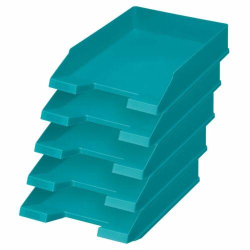 türkis Briefkorb Farbe 5x Herlitz Ablagekorb Briefablage