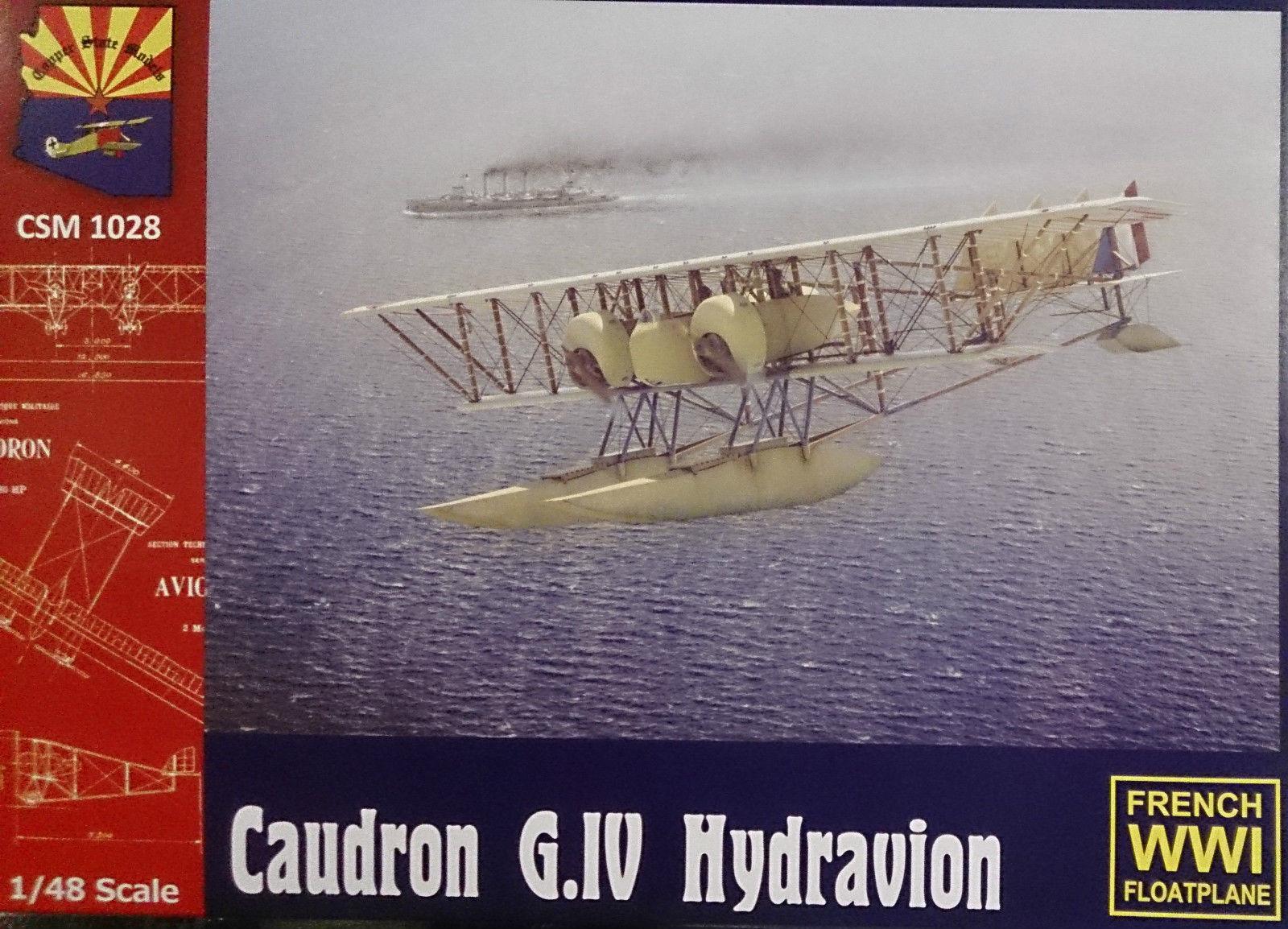 1 48 Copper State Models  K1028 - Caudron G.IV Floatplane