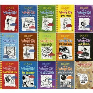 Diary-of-a-Wimpy-Kid-15-Books-Collection-Set-by-Jeff-Kinney-Do-It-Yourself-NEW