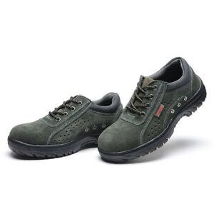 MENS' Summer Work Safety Shoes Boots Smash-proof Penetration-re<wbr/>sistant 030
