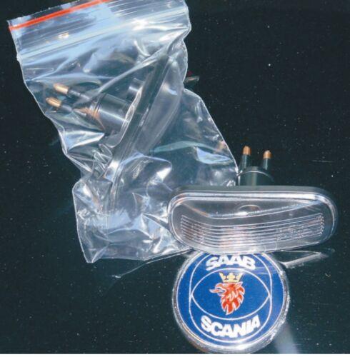Saab 9 3 9 5 Marcador Indicador Repetidor par Aero Combinar La Cola Gradual 98-04 Nuevo