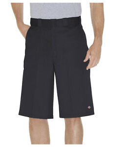 DICKIES-noir-travail-court-42283-33cm-coupe-ample-multi-poche-Tailles-30-to-44