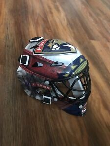 Roberto Luongo Signed Florida Panthers Mini Goalie Mask Jsa Coa