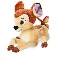 Bambi Plush Deer Stuffed Animal Doll Toy Disney Store Medium 13 Easter Reindeer