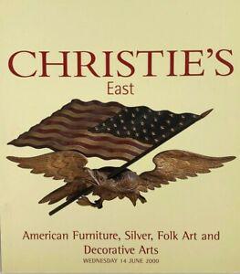 Christie S East American Furniture Silver Decorative Folk Art Auction Catalog Ebay