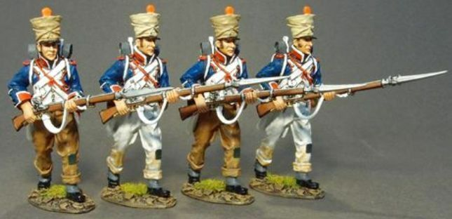 JOHN JENKINS PENSULAR WAR 1807 -1814 PFL -11N FRANSKA 6TH LINE ADVANCING MIB