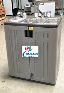 Portable 4 Compartment Sink.Details About New 30 Portable 4 Compartment Sink Party Event Carnival Festival Catering Nsf