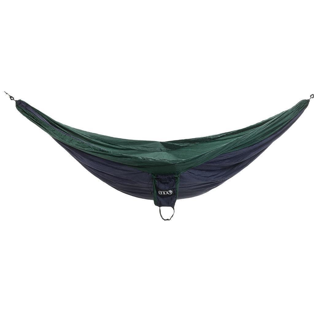 Nuevo Lujo Eno doble campamento Hamaca de peso ligero de Seda de paracaídas Nylon Azul verde