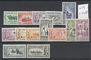 Falkland-Islands-1952-KGVI-MVLH-SG-172-185-V-7488
