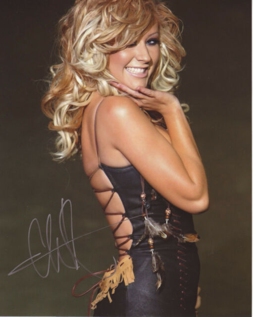 Christina Aguilera Autographed Preprint Signed Photo Fridge Magnet