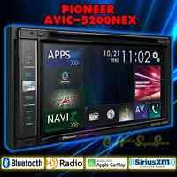 Pioneer Avic-5200nex 6.2 Tv Dvd Mp3 Apple Carplay Gps Navigation Car Stereo