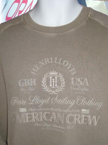 American Bmw 5028534769472 Nuevo Aurora Caqui Lloyd Henri L Crew Vintage Sudadera Sal Lavado qfwtw1B7W