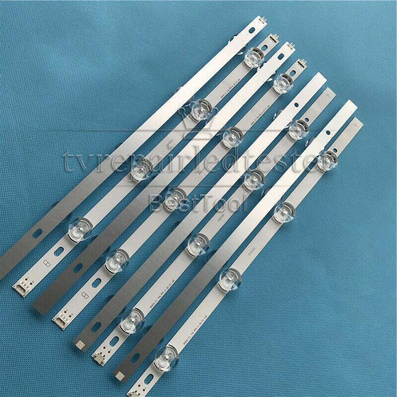 2pc LED strip For LG 40/'/' DRT4.0 REV0 7 A-Type SVL400 6916L-0884A 0885A HC400DUN