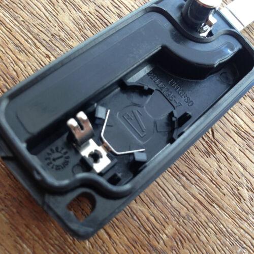 Para Peugeot 207 307cc 308 407 SW Remoto Voltear Llavero C3bwg Kit de reparación completa