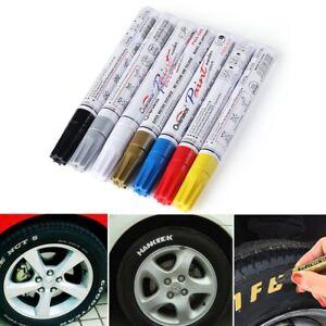 para-Neumatico-de-coche-Caucho-Metal-Rotulador-de-pintura-resistente-al-agua