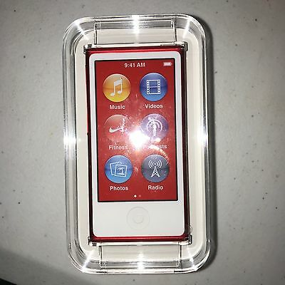 "NEW SEALED Apple iPod Nano 8th Generation ""RED""16GB - Brand NEW Full Warranty"