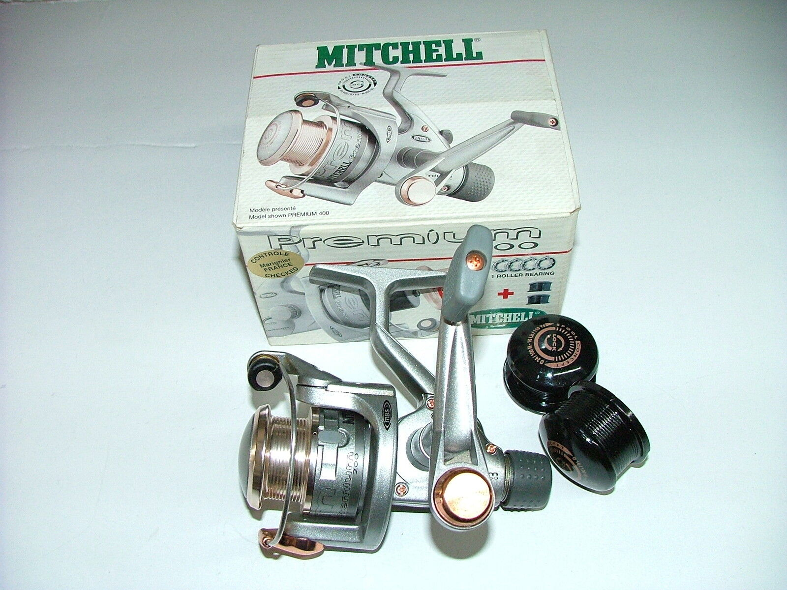 MITCHELL PREMIUM 200 mulinello 5 cuscinetti pesca bolognese inglese spinning