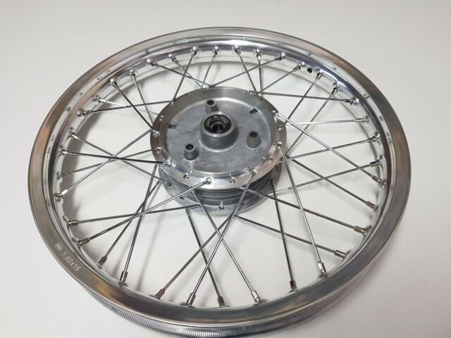 Speichen Verchromt für Simson S50 S51 S70 KR51 SR4 Aluminium Felge 16 Zoll