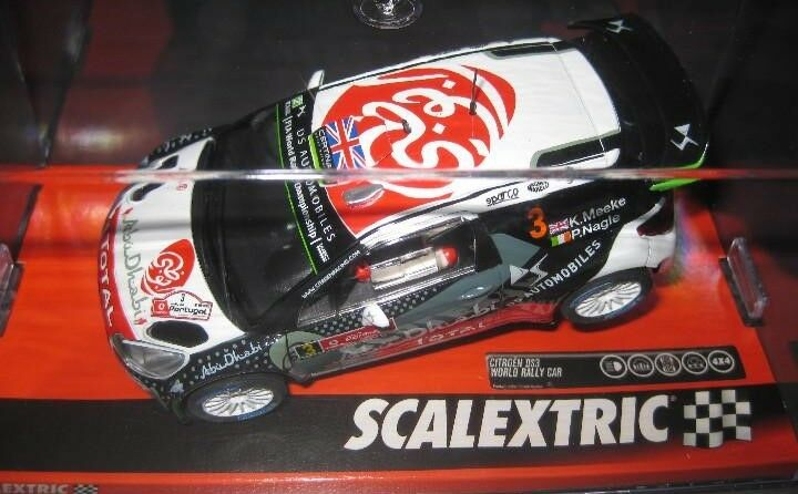 OFFER A10217S300 CITROEN DS3 WRC RALLY PORTUGAL'S SCALEXTRIC 1 32 new