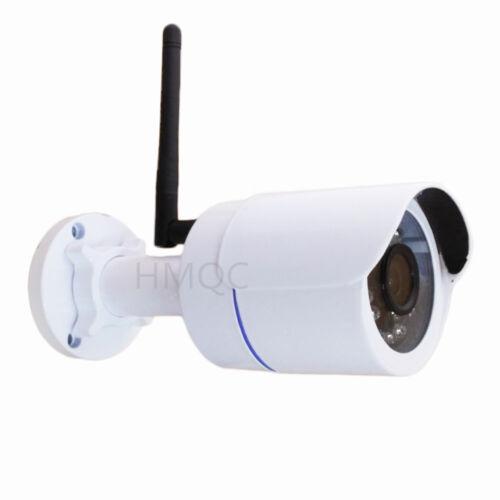 HMQC 2.0MP 3.6MM 1080P WIFI Audio IP Camera P2P Night  ONVIF 24IR CamHi APP