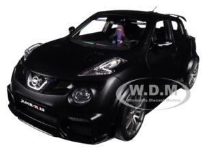 Nissan Juke R 2 0 Matt Black 1 18 Model Car By Autoart 77458 Ebay