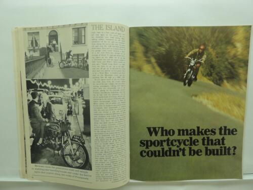 Oct 1967 Cycle Magazine Munch Mammut 1000 Velocette Bultaco Matador Sachs B43
