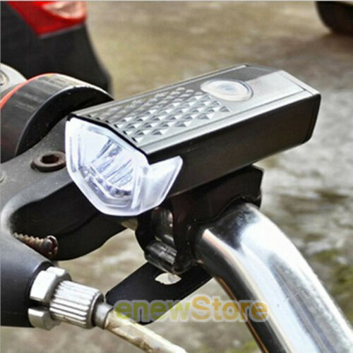 2Mountain Bike Cycling Headlight Bicycle Front Lamp Rear Taillights USB Charging