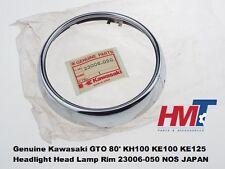 Genuine Kawasaki GTO 80' KH100 KE100 KE125 Headlight Head Lamp Rim 23006-050 NOS