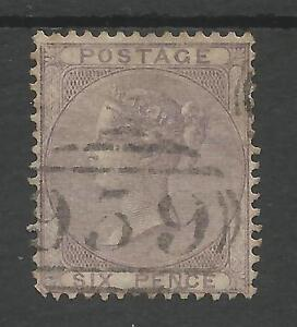 SG70-THE-1856-QV-6d-PALE-LILAC-FINE-USED-CAT-125