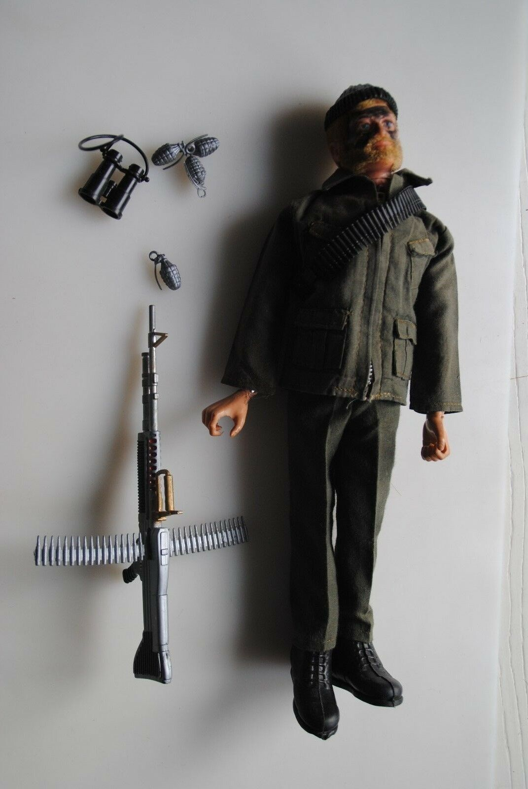 ACTION MAN  VINTAGE PALITOY  COMMANDO    NICE FIGURE