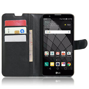Magnetic Flip Stand Wallet Leather Case Skin For Lg Stylo