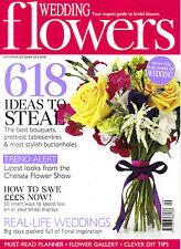 WEDDING FLOWERS Magazine September / October 2012 @NEW@ Art of Flower arranging