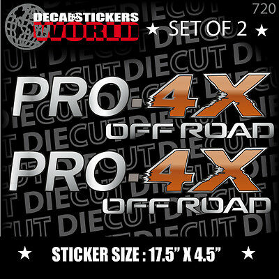 4X4 SPORT OFFROAD DECAL STICKER FITS TITAN PRO-4X FRONTIER XTERRA SUV SA0483