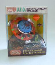 Vintage Aquarium Toy U.F.O. Interplanetary Voyager Space Ship MIB Penn-Plax