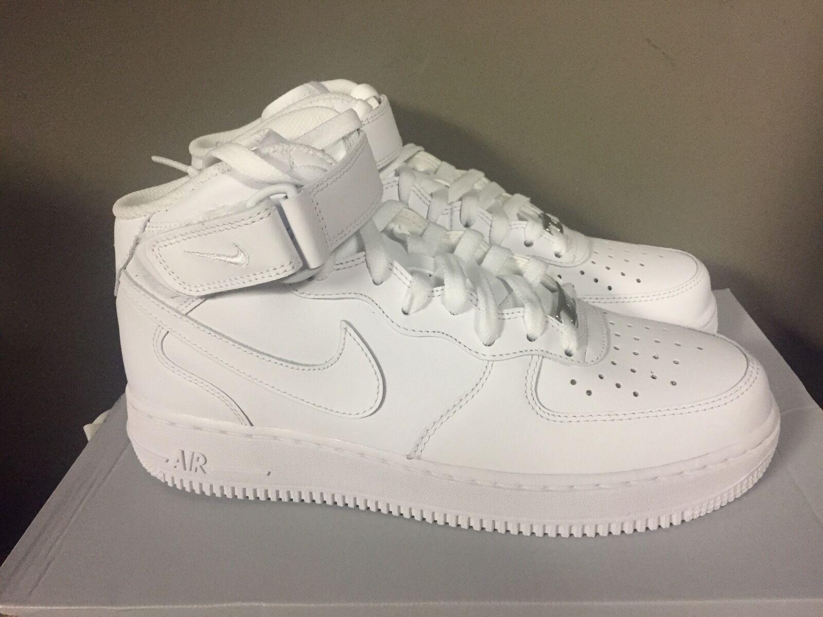 Nike uomo air force 1 met 2007 scarpe da uomo Nike bianco / bianco 315123-111 4c3af1